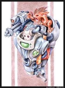 Automaton PENCIL