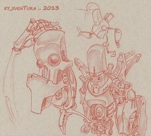 Robot Dudes SKETCH