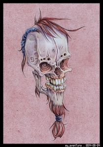 Bonehead 0018 PENCIL