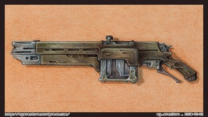 Gun 007 PENCIL