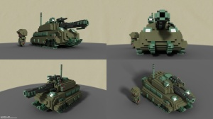 Tank VOXEL