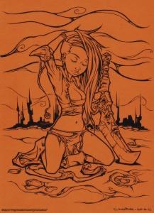 Blade Girl INK
