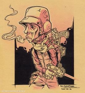 No War of Mine INK + PENCIL