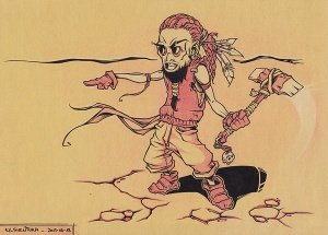 Tomahawk INK + PENCIL