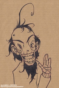 Happy Zombie INK