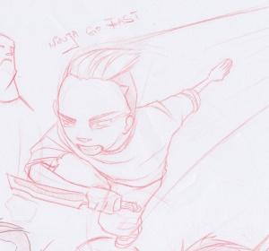 Ninja Go Fast! SKETCH