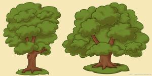 Tree 1 + 2 VECTOR