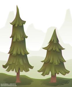 Tree 3 + 4 VECTOR