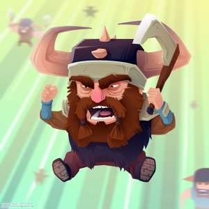 Angry Beards VECTOR