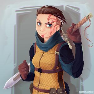 Blade Girl 2 VECTOR