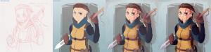 Blade Girl 2 STEPS