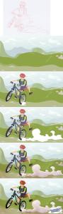 Biker STEPS