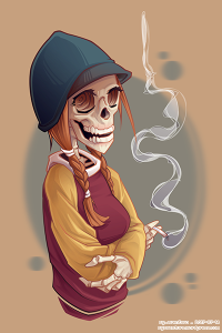 Bone Girl VECTOR