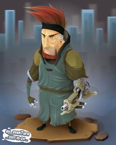 Cyborg Agent VECTOR