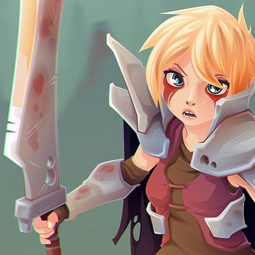 Blade Girl 6 DETAIL