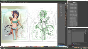 Blade Girl 7 OUTLINE