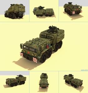 MAZ-537 VOXEL
