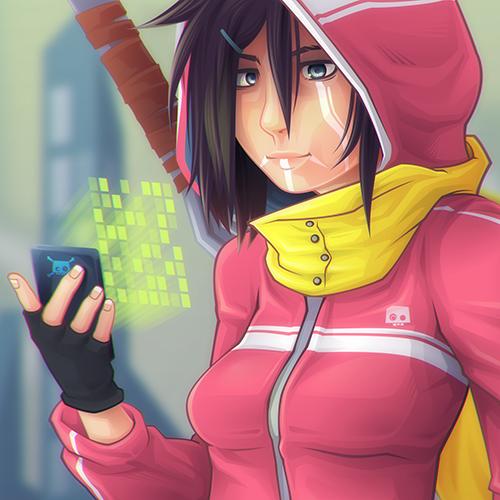 Blade Girl 9 DETAIL