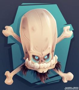 Bonehead 0023 VECTOR