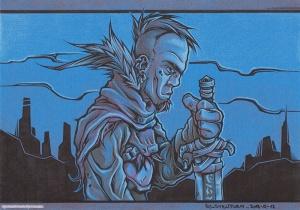 Blade Dude 3 INK+PENCIL