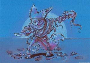 Fox Raider INK+PENCIL