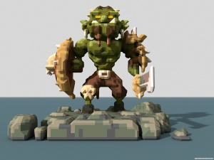 Orc VOXEL